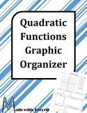 Quadratic Functions Graphic Organizer