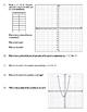 Quadratic Functions - Identify Key Parts Worksheet - DAY 2