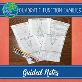Graphing Quadratic Functions - Guided Notes