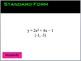 Quadratic Functions Jeopardy