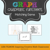Quadratic Functions Matching Game