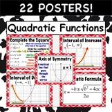 Quadratic Functions POSTERS