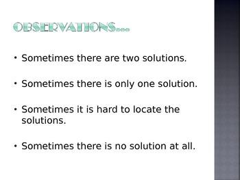 Quadratic Functions PowerPoint