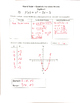 Quadratic Functions Review Activity