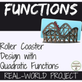 Quadratic Functions Roller Coaster Project EDITABLE RUBRIC