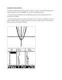 Quadratic Functions Stations