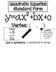 Quadratic Functions Vertex Form Notes