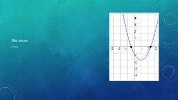 Quadratic Functions Vocab
