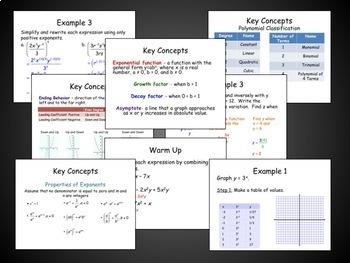 Quadratic Functions and Equations Unit