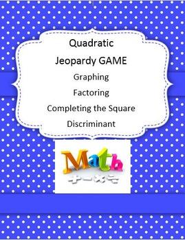 Quadratic Jeopardy