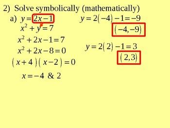 Quadratic-Linear Systems