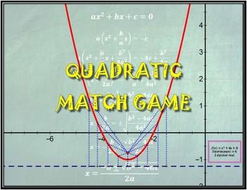 Quadratic Match Game