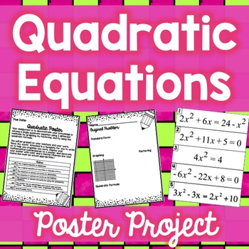 Quadratic Poster Project