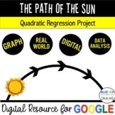 Quadratic Regression Project Based Learning - Distance Learning