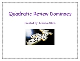 Quadratic Review Dominoes