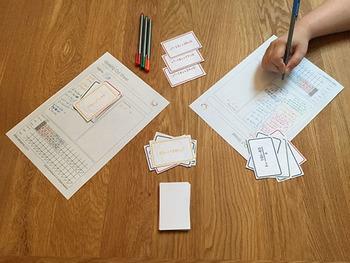 Quadratic Rummy Card Game