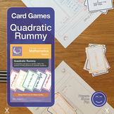 Quadratic Rummy Card Game