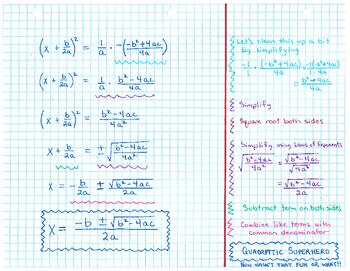 Quadratic Superhero (Quadratic Formula)