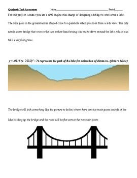 Quadratic Task Assessment Bridge Project