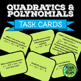 Quadratic Task Cards Activity