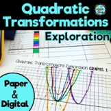 Quadratic Transformations Exploration (including option for function notation)