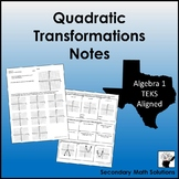 Quadratic Transformations Notes  (A7C)