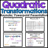 Quadratic Transformations Powerpoint/Keynote