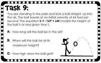 solving quadratic word problems