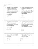 Quadratic Word Prolems
