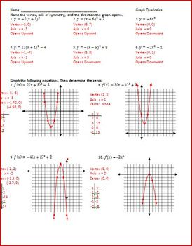 worksheet. Quadratic Graphs Worksheet. Grass Fedjp Worksheet Study ...