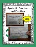 Quadratics Flipbook