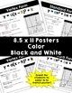 Quadratics Posters and Reference Sheet - BUNDLE