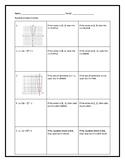 Quadratics Easter Activity