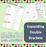 Algebra - Quadratics - Expanding double brackets