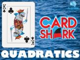 Quadratics Fun Review Game - Card Shark