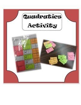Quadratics Matching Activity