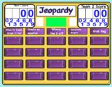 Quadratics Jeopardy