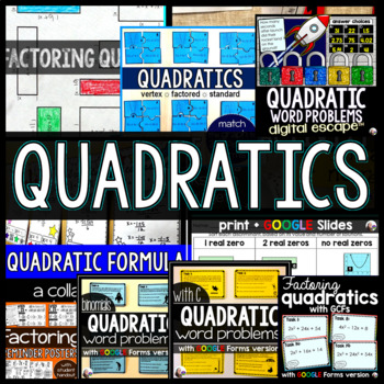 Quadratics Bundle