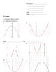Quadratics Note Packet