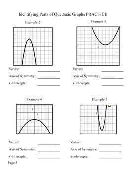 Quadratics Notes and Practice Problems