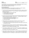 Quadratics Project (Algebra 2)