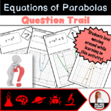 Parabolas and Quadratics Graphs and Equations Question Trail