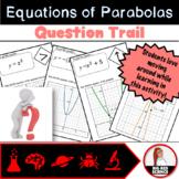 Parabolas and Quadratics Graphs and Equations Question Trail