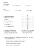 Quadratics Review 2