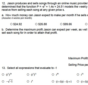 Quadratics Unit Bundle (Ideal for Algebra I, II, Pre-Calc)