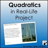 Quadratics in Real-Life Project
