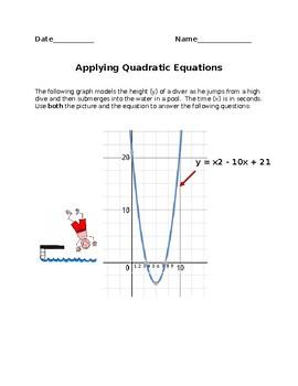 Quadratics in the Real World