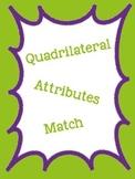 Quadrilateral Attributes Match