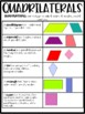Quadrilateral Bingo FREEBIE