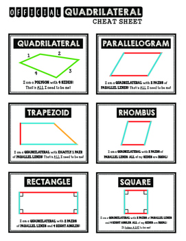 Quadrilateral Bonanza!